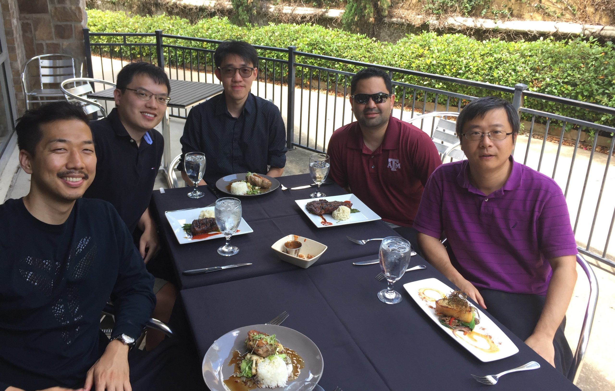Lunch with Students at Veritas 2018